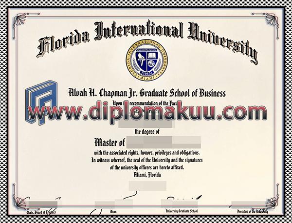佛罗里达国际大学文凭购买