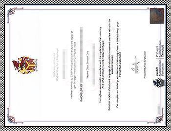 UWIC毕业证办理