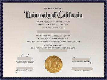 UCSD文凭购买