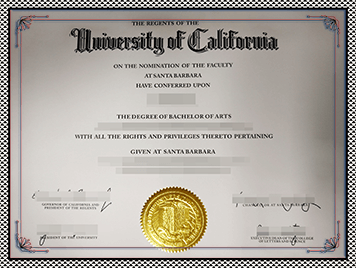 UCSB文凭购买