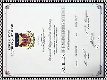 USQ文凭购买