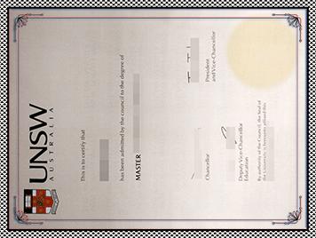UNSW文凭购买