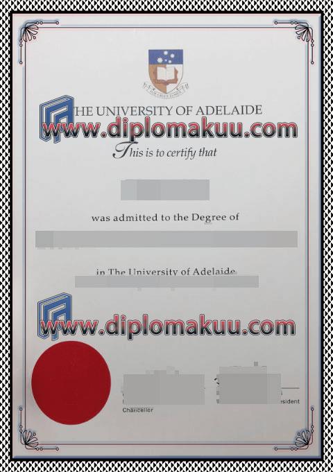 阿德莱德大学文凭购买