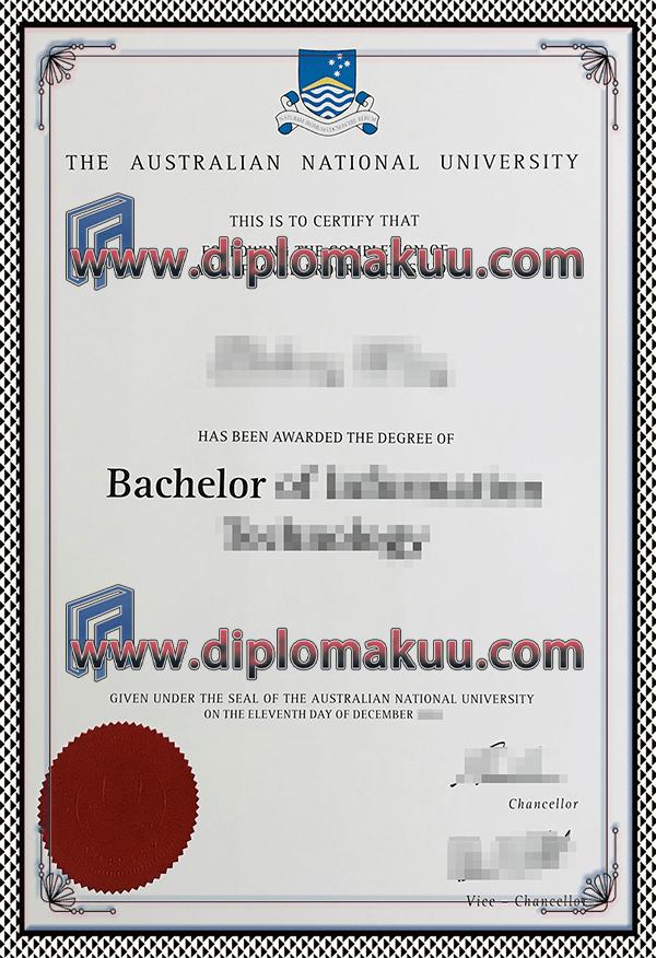 澳洲国立大学文凭购买