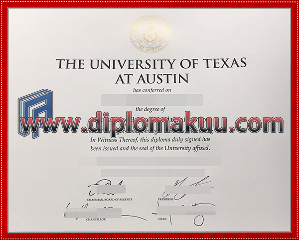 得克萨斯大学奥斯汀分校文凭购买