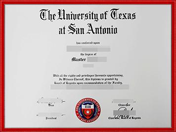 UTSA文凭购买