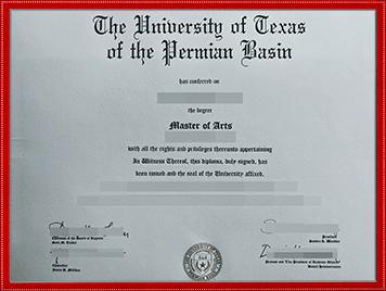 德克萨斯大学帕米亚盆地分校文凭购买