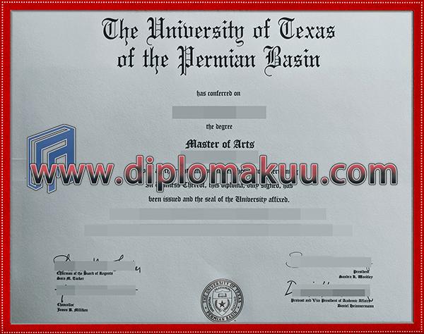 购买UTPB文凭
