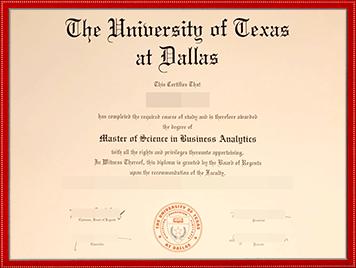 UTD文凭购买